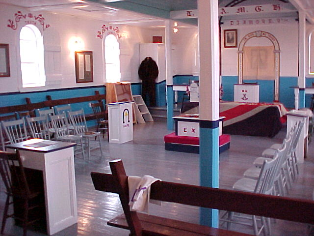 Inside the Orange Hall